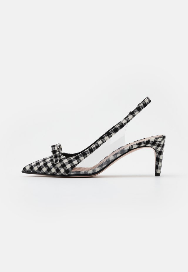 Classic heels - nero/bianco