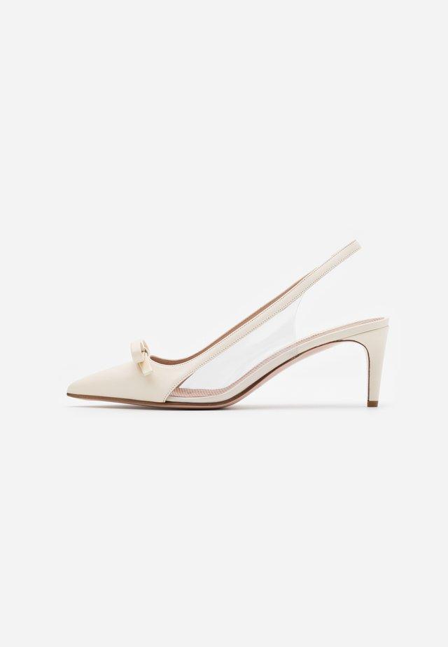 Svatební boty - avorio