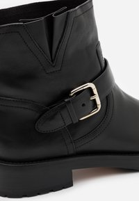 Red V - Cowboy/biker ankle boot - nero - 3