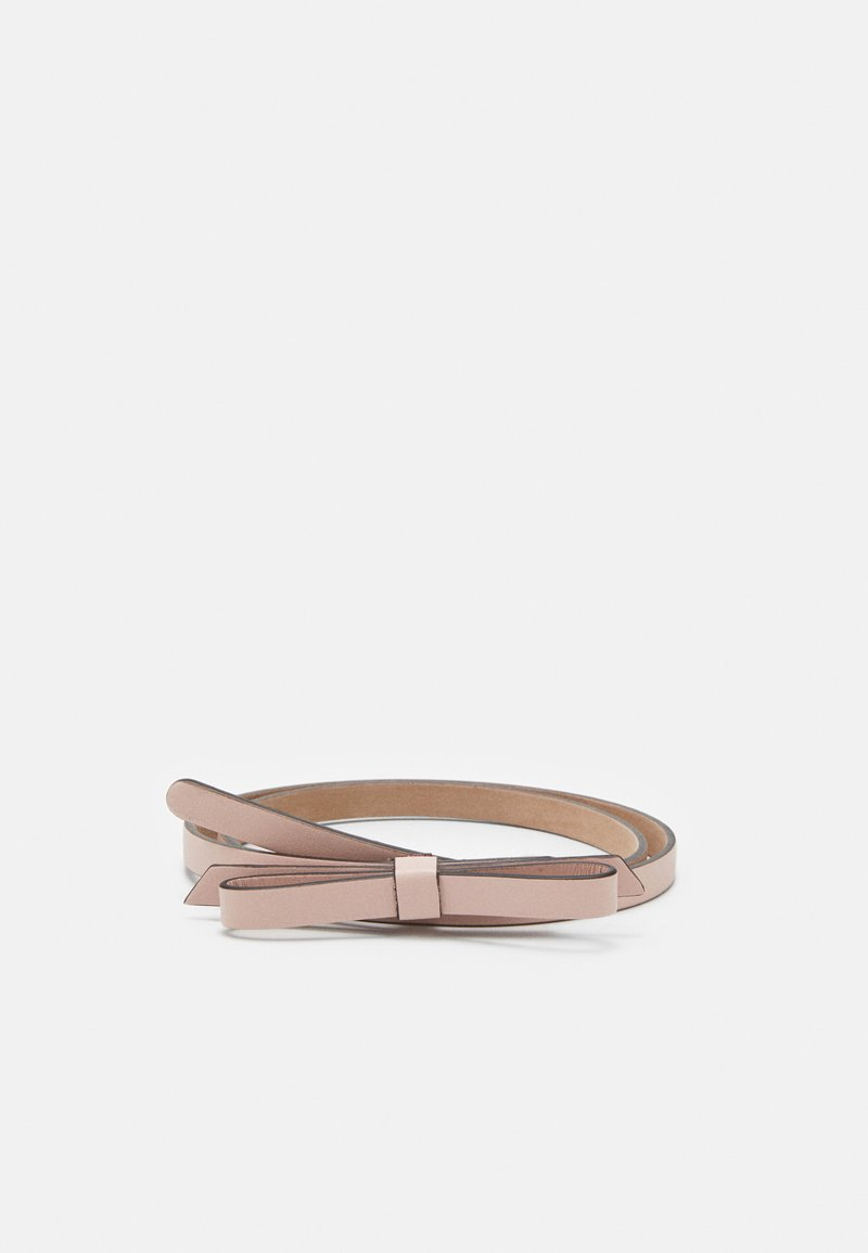 Red V - SANDIE BOW SKINNY BELT - Belt - nude