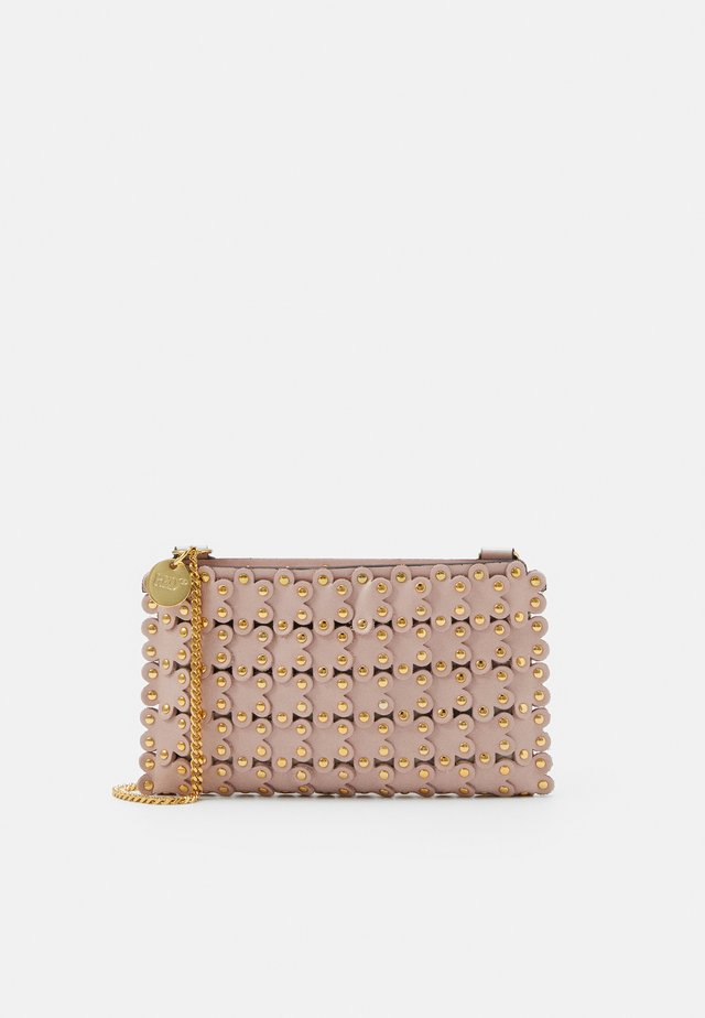 FLOWER PUZZLE MINI BAG - Clutch - nude