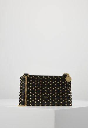 FLOWER PUZZLE MINI BAG - Clutch - black