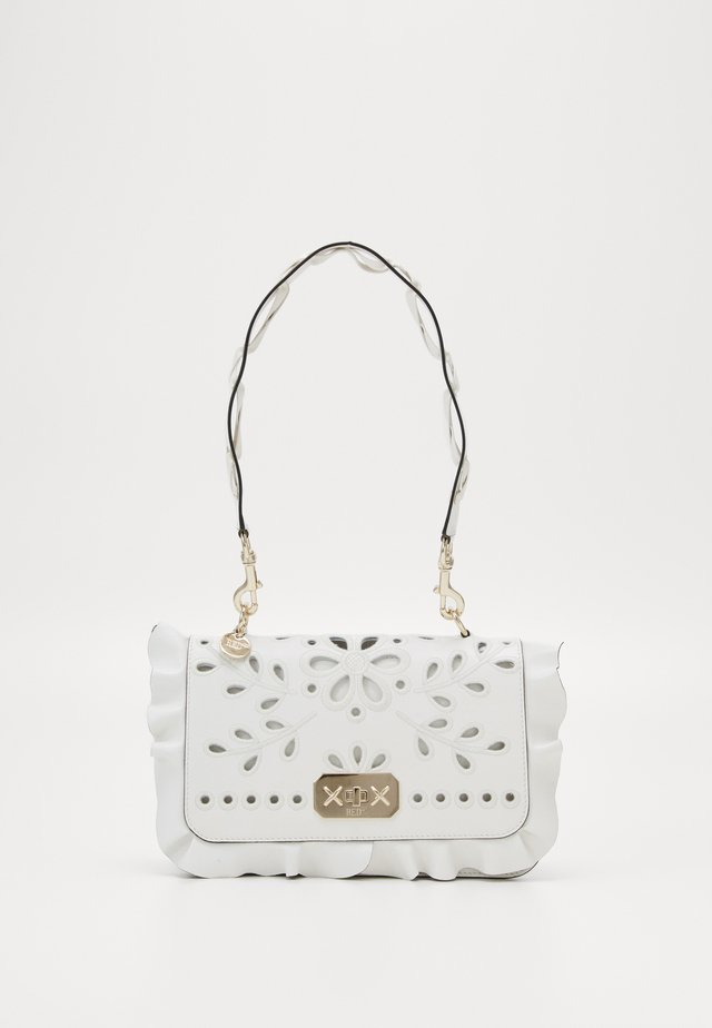 ROCK RUFFLES  - Handbag - milk/milk