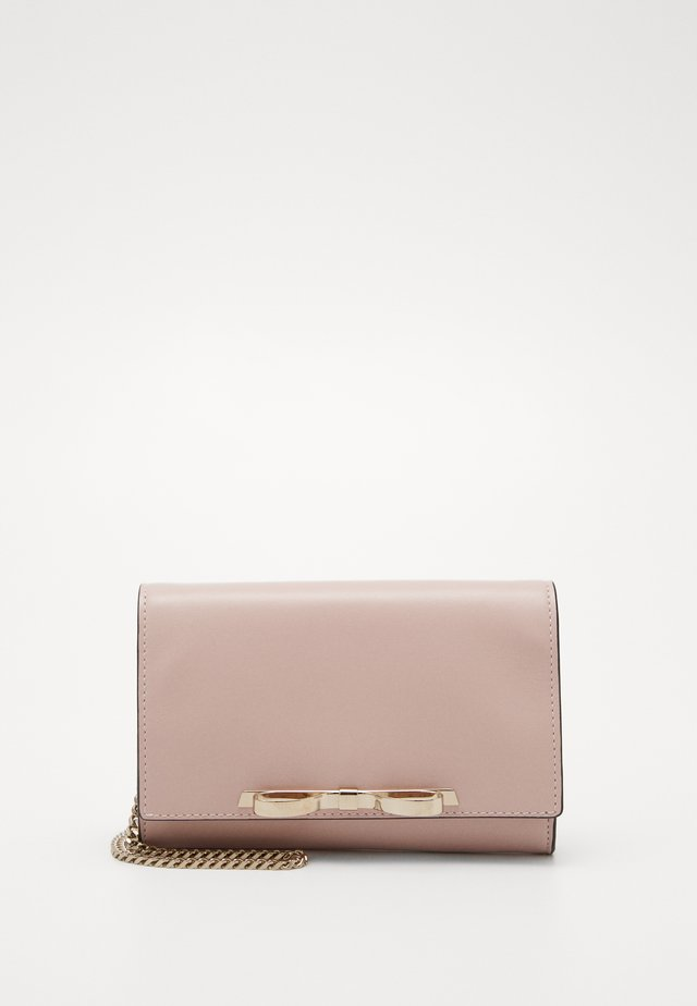 BOW CHAIN - Clutch - nude