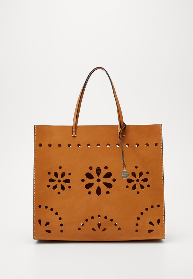CAYO VADERO CUT OUT TOTE - Shopping bag - tan