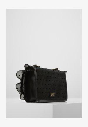 ROCK RUFFLE DOTTY SHOULDER - Across body bag - black