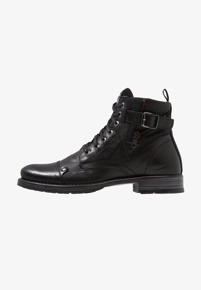 Redskins - YERO - Lace-up ankle boots - noir/gris