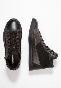 Redskins - NERIVA - Sneakers hoog - noir/gris - 1