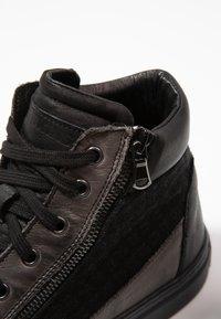 Redskins - NERIVA - Sneakers hoog - noir/gris - 5