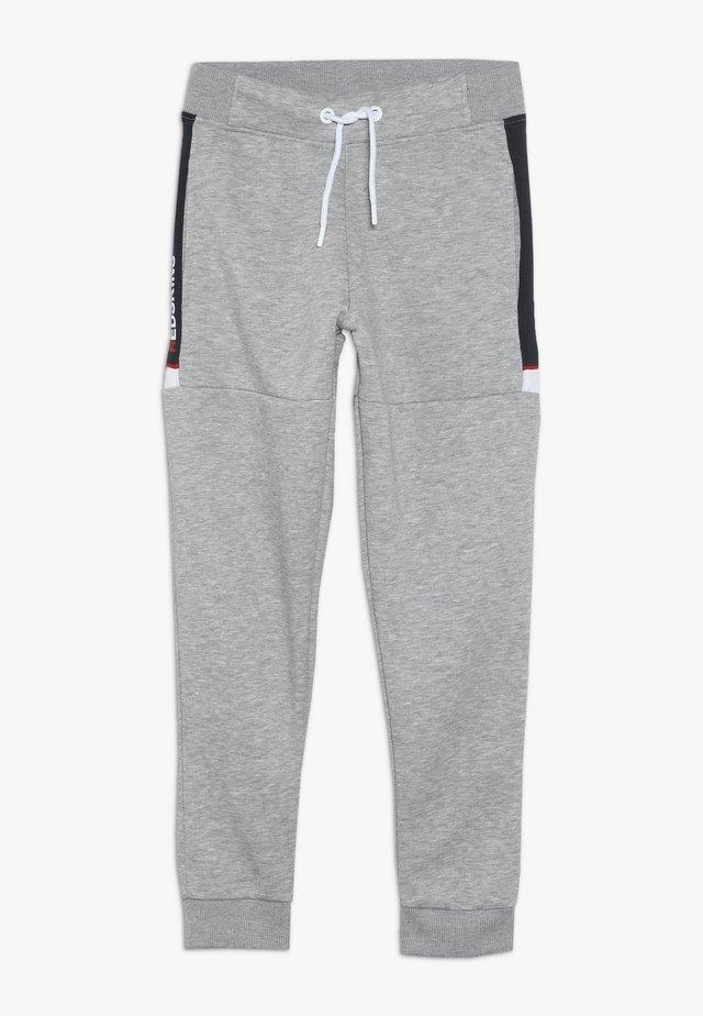 SLACK - Pantalones deportivos - grey melange