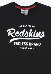 Redskins - LENOX - T-shirts print - black - 3