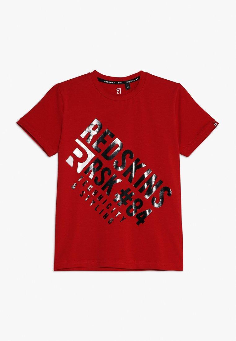 Redskins - COXIM - Print T-shirt - red