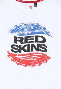 Redskins - FORD - T-shirts print - white - 3