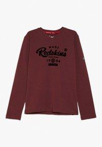 Redskins - EZRA - Langærmede T-shirts - bordeaux - 0