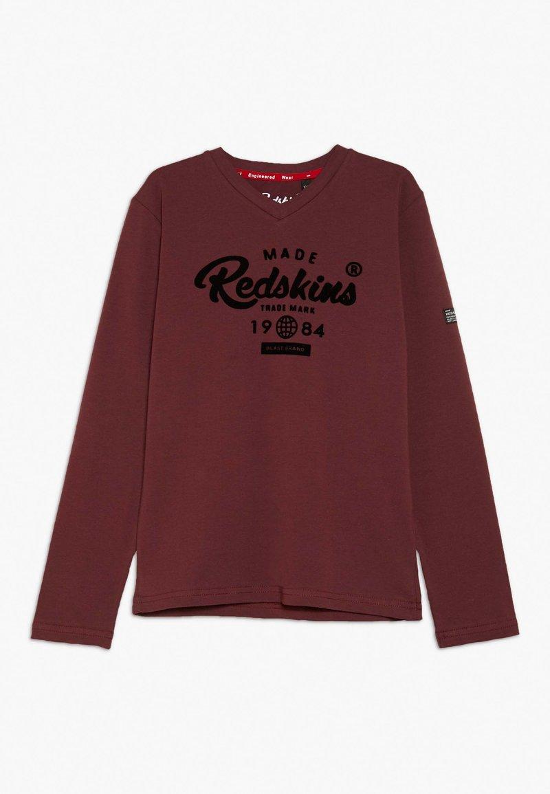 Redskins - EZRA - Langærmede T-shirts - bordeaux