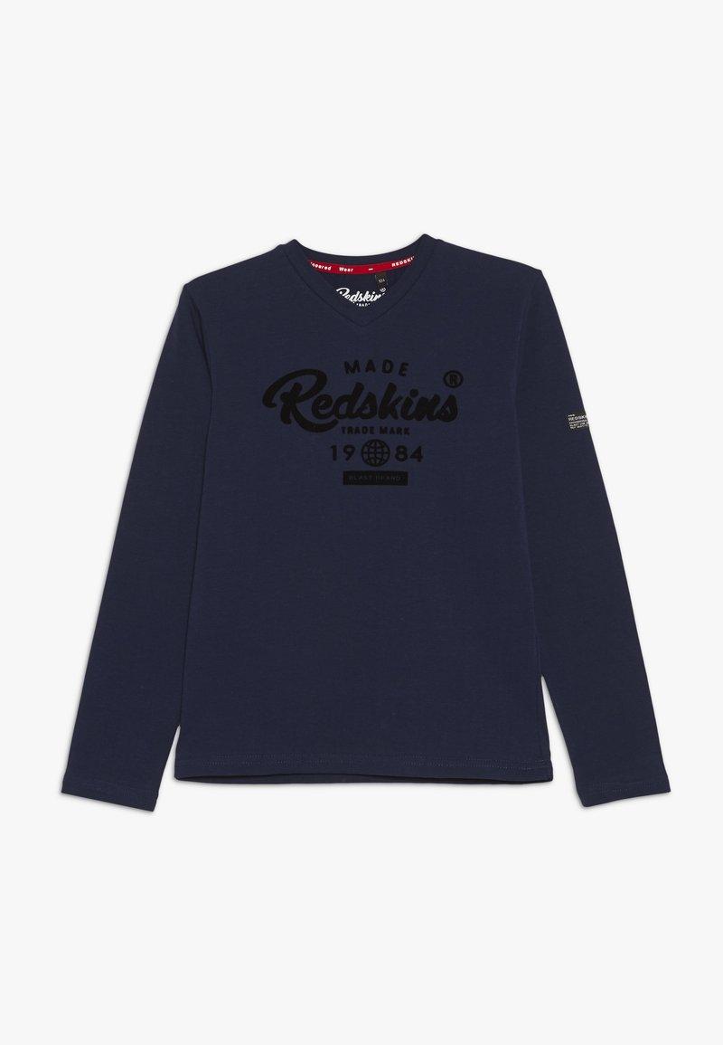 Redskins - EZRA - Top sdlouhým rukávem - navy