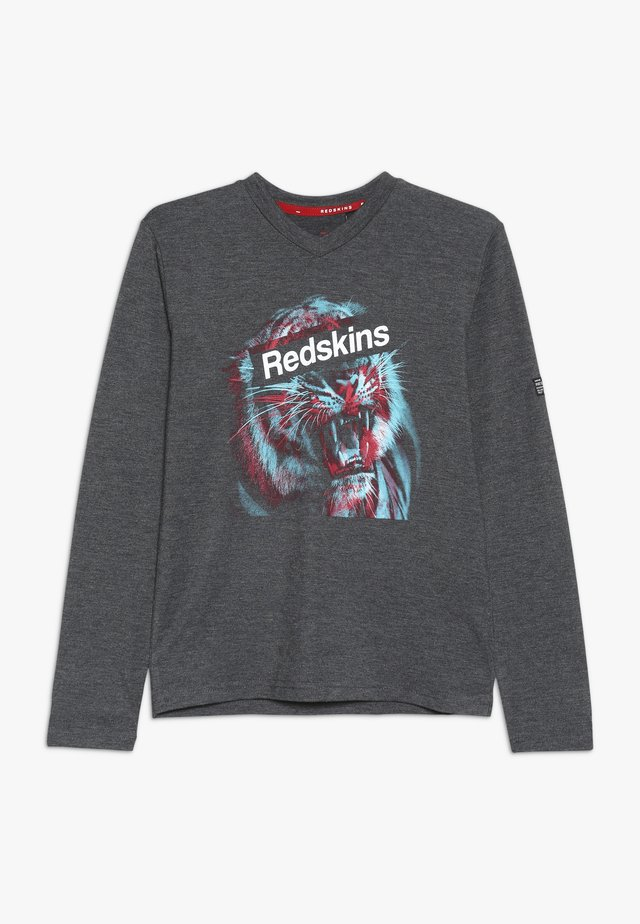 TRIBES - Langærmede T-shirts - anthrazit melange