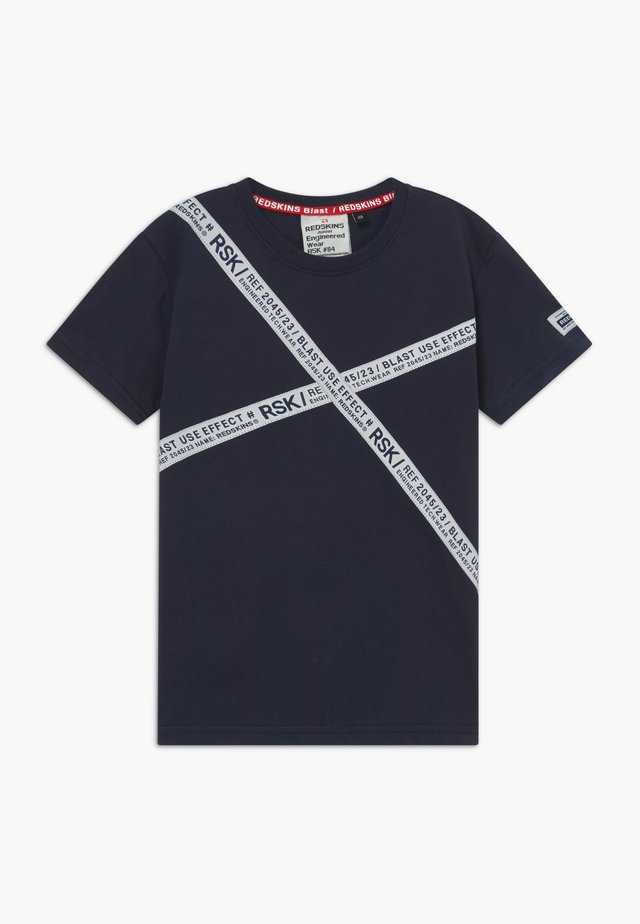 ROCCO - T-shirt con stampa - navy