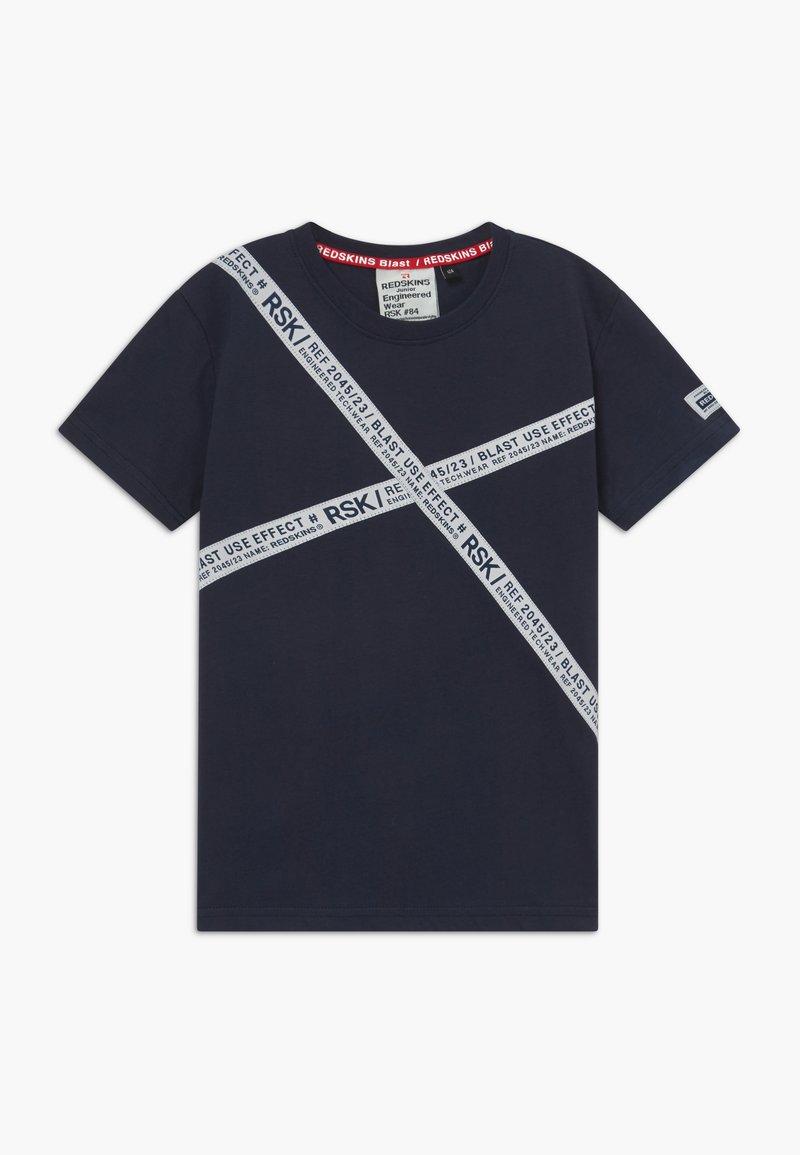 Redskins - ROCCO - T-shirts print - navy