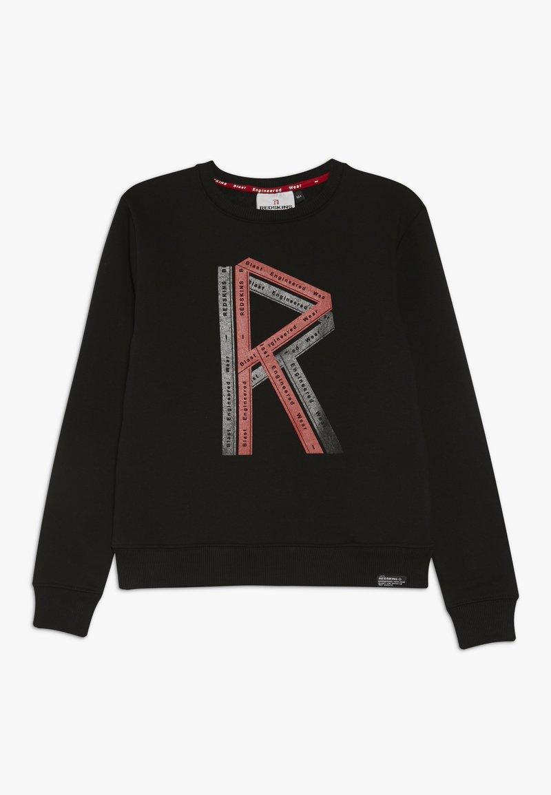 Redskins - STRUMER - Collegepaita - black