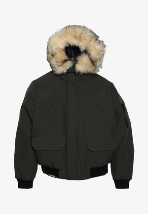 KENDO - Winter jacket - kaki dark