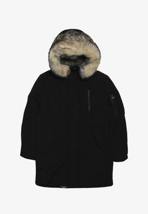JUDO - Zimní kabát - black