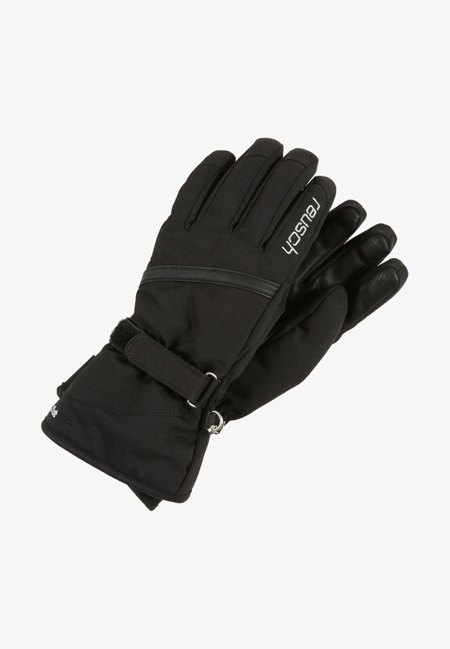 ALEXA GTX - Gloves - black/silver