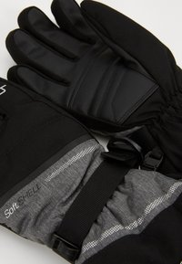 Reusch - DEMI R TEX® XT - Gants - black/grey melange/silver - 4