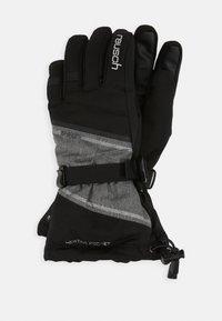 Reusch - DEMI R TEX® XT - Gants - black/grey melange/silver - 0