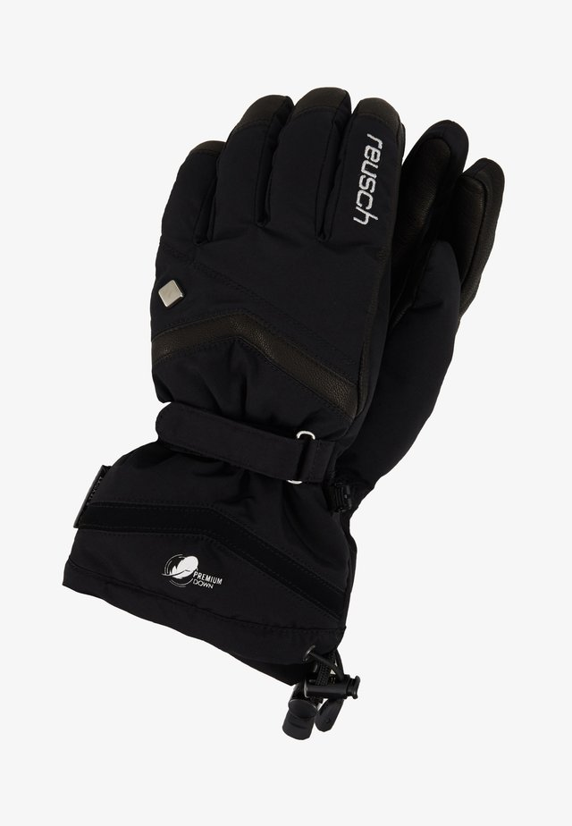 NARIA R-TEX® XT - Gloves - black/silver