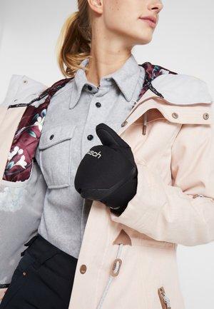 YANINA R-TEX® MITTEN - Moufles - black/silver