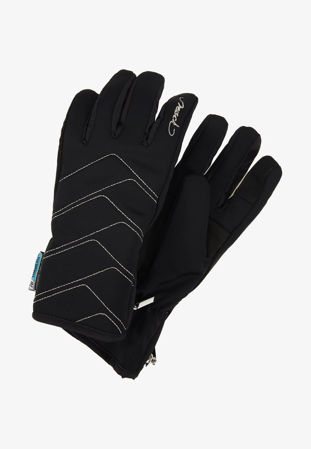 LOREDANA TOUCH TEC™ - Gloves - black/silver