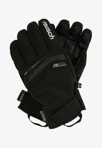 Reusch - BRUCE - Fingervantar - black/white - 1