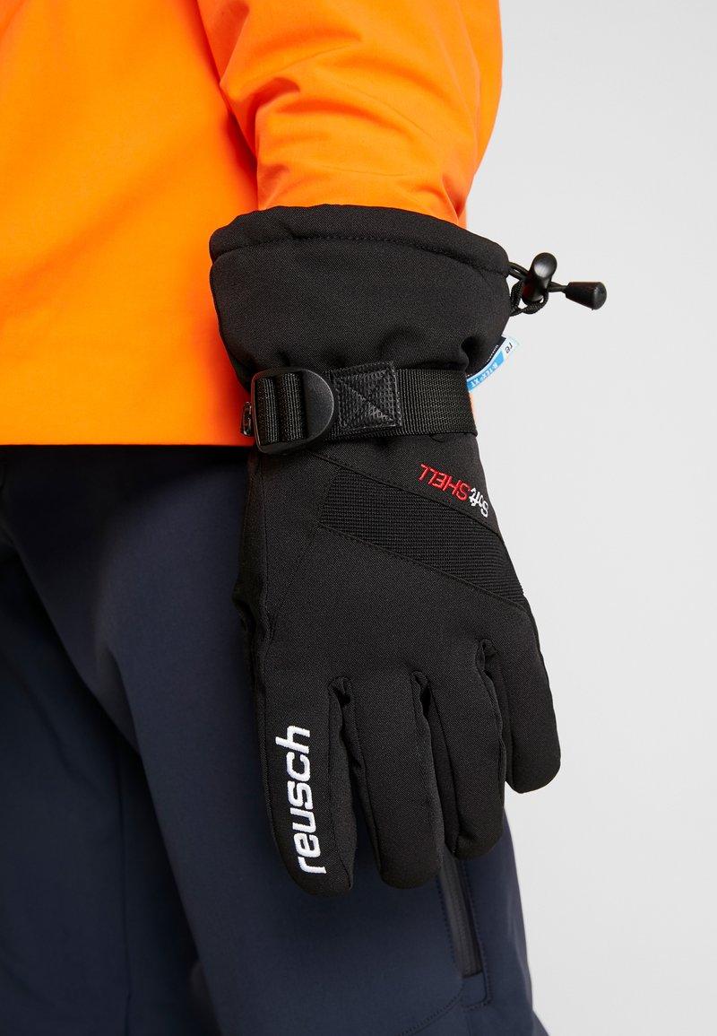 Reusch - OUTSET R-TEX® XT - Fingervantar - black/white