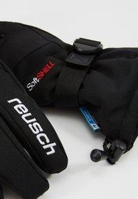 Reusch - OUTSET R-TEX® XT - Fingervantar - black/white - 4