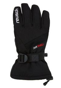 Reusch - OUTSET R-TEX® XT - Fingervantar - black/white - 2