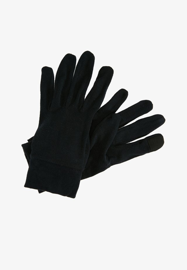 SILK LINER TOUCH-TEC™ - Fingerhandschuh - black