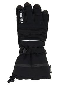 Reusch - ISIDRO GTX® - Fingervantar - black/white - 2