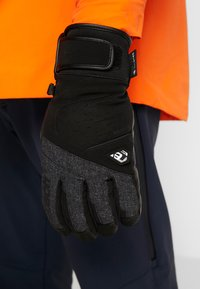 Reusch - BEAT GTX® - Fingervantar - black/black melange - 0