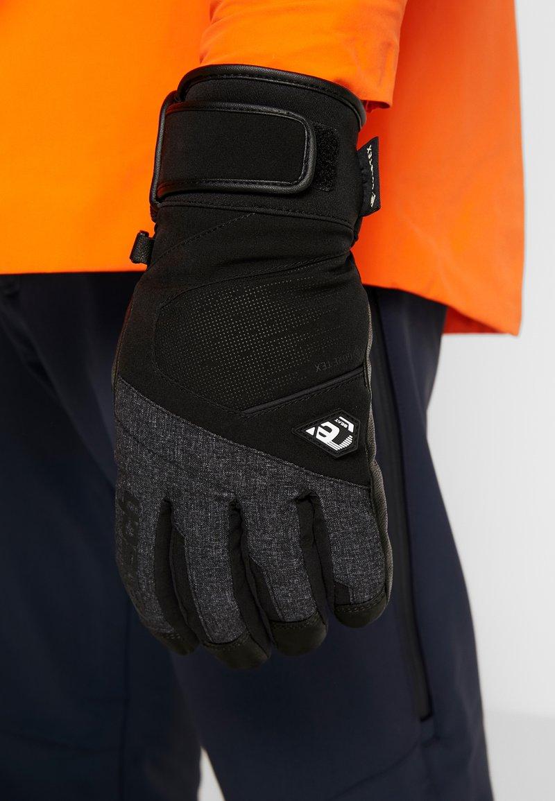 Reusch - BEAT GTX® - Fingervantar - black/black melange