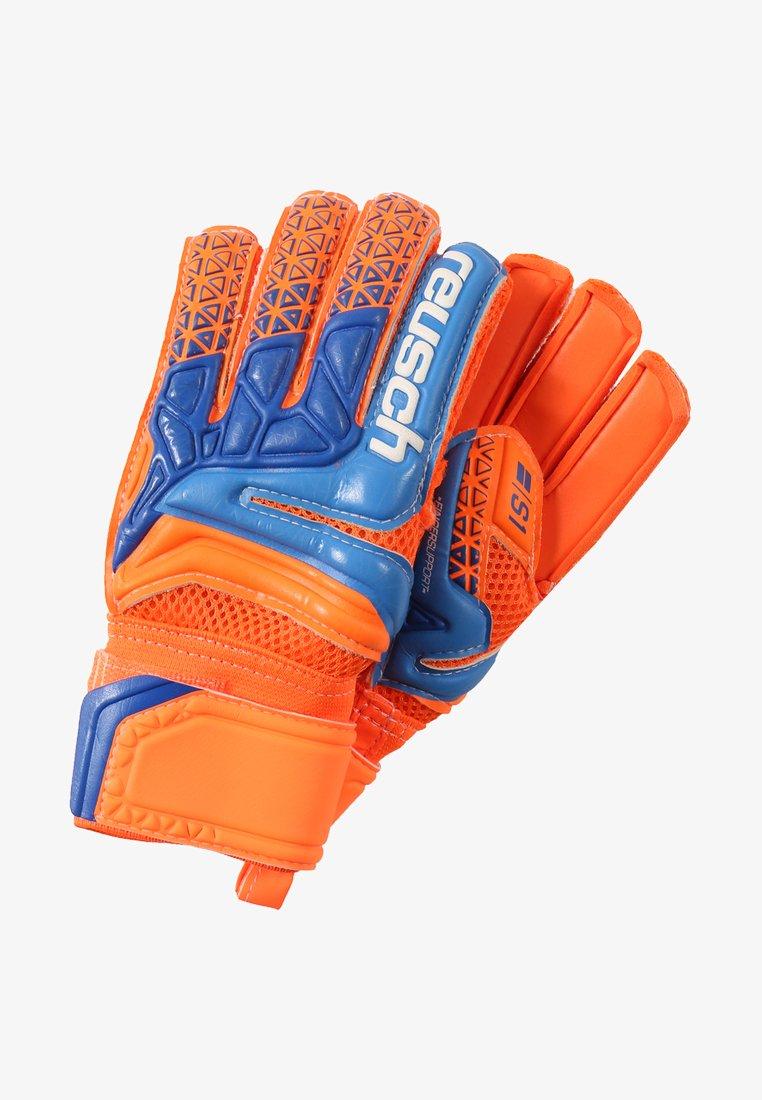Reusch - SERATHOR PRIME S1 FINGER SUPPORT JUNIOR - Gants de gardien de but - orange/blue