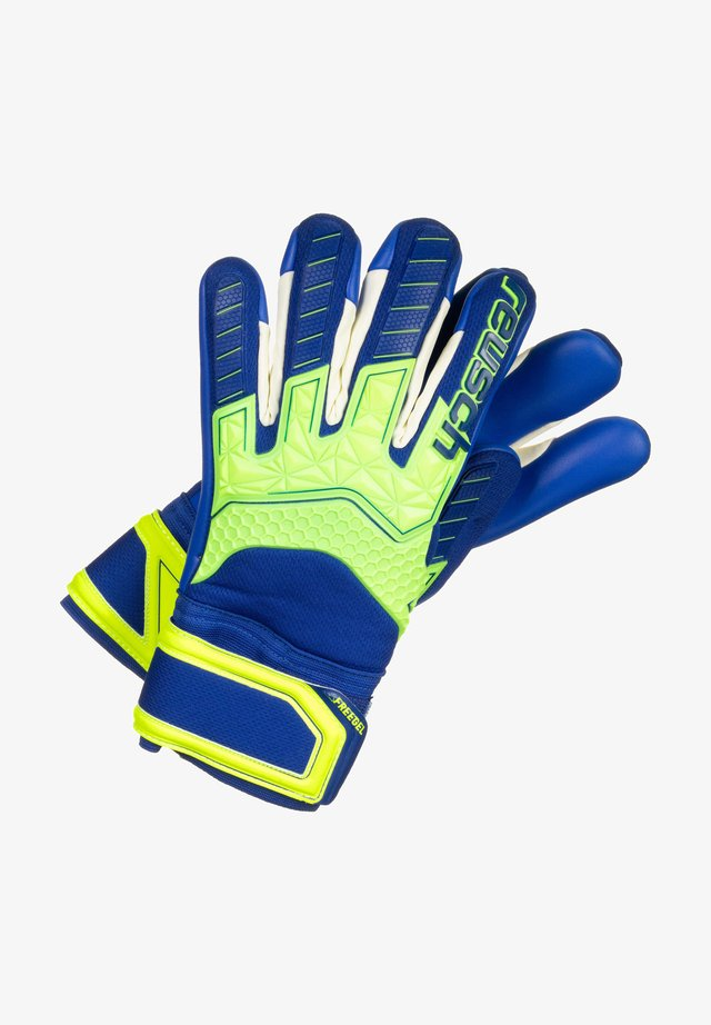 ATTRAKT FREEGEL S1  - Gants - safety yellow / deep blue