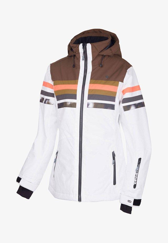ELLYAH - Snowboard jacket - white