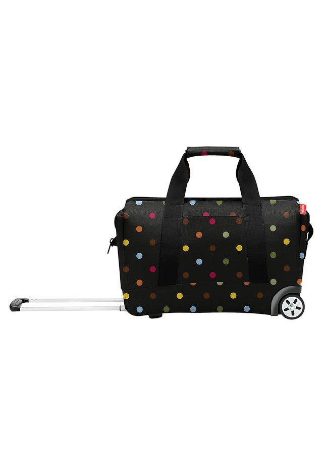 Wheeled suitcase - dots [7009]