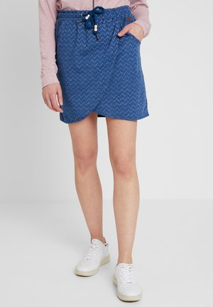 NAILA - Miniskjørt - denim blue