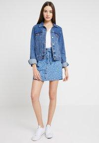 Ragwear - NINA - Denim skirt - blue - 1