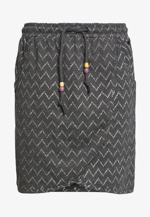 NAILA - A-line skirt - black