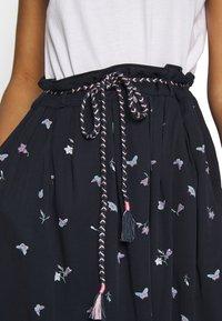 Ragwear - DEBBIE BUTTERFLIES - A-line skirt - navy - 5