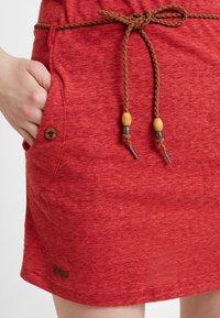 Ragwear - TAG - Žerzejové šaty - coral - 5