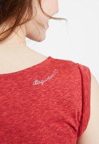 Ragwear - TAG - Žerzejové šaty - coral - 3